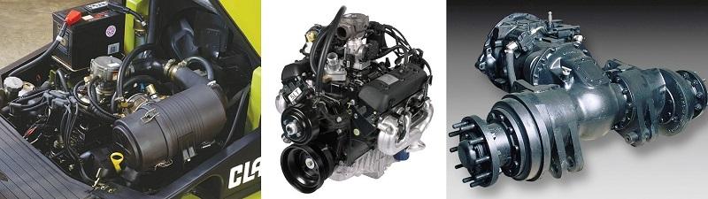 Двигатель и трансмиссия Clark CGC 40/50/55/60/70