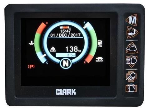 Дисплей Clark S20C/25C/30C/32C