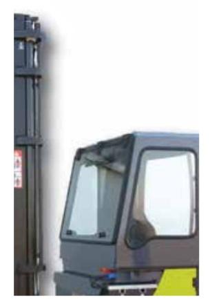 Остекленная кабина ричтрака Clark CRT14/16/20 ac